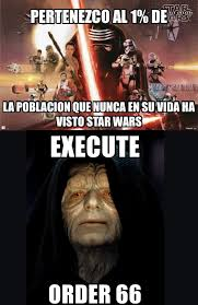 Memes De Star Wars - 1 que no ha visto star wars memes cinéfilos