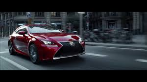 lexus usa rc lexus rc commercial u201ccaptivate u201d youtube