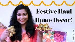 home decor for diwali 2017 home centre haul diwalog day 1
