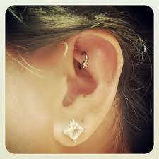 ear piercing hoop 23 rook piercings with hoop rings