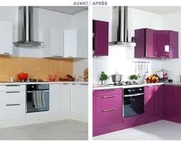 portes pour meubles de cuisine peinture porte cuisine cuisine blanche murs aubergine repeindre