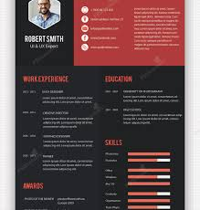 designer resume templates creative professional resume template free design templates editable
