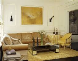 Gold Sofa Living Room Living Room Rectangular Living Room Eclectic With Study Library