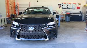 lexus gs350 f sport 2016 window tint for lexus gs 350 windowtintz com