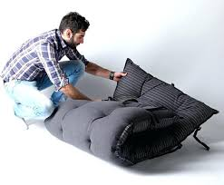 bean bag into bedbed design transforms into chairs and beanbag