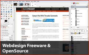 webseiten design programm top 5 freeware opensource webdesign softwaer