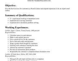 Resume Sles For Cashier Resume Exle For Cashier Unforgettable Part Time Cashiers
