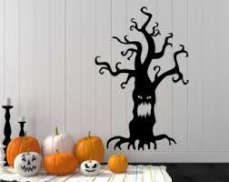 halloween wall decals etsy