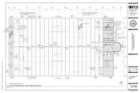 Floor Framing Plan Fastbid 3 Potelco Fleet And Service Center Frederickson Wa