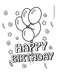 top coloring pages birthday 94 3208