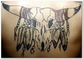 the 25 best bull skull tattoos ideas on pinterest bull skulls