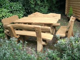 rustic outdoor furniture diy homearchivegardenbenches seating5ft