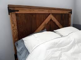 rustic headboard diy how to build rustic wood head board robeson