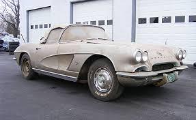 62 corvette convertible for sale barn fresh and restoration ready 1962 corvette roadster