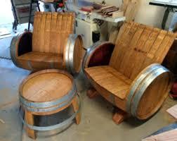 Wine Barrel Bar Table Wine Barrel Chairs Etsy