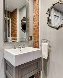 wandgestaltung gäste wc wandgestaltung waschbecken kreative bilder für zu hause design