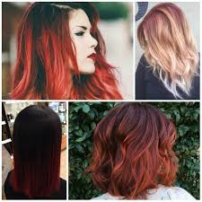 Color For 2017 Red Ombre Hair Colors For 2017 U2013 Best Hair Color Ideas U0026 Trends In
