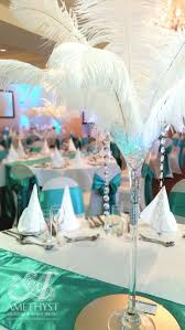 Feather Vase Centerpieces by 54 Best Martini Centerpiece Images On Pinterest Martini Glass