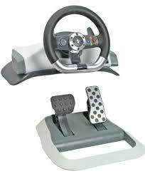 xbox 360 steering wheel genuine microsoft xbox 360 wireless feedback racing wheel