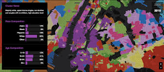 Map Of Nyc Neighborhoods Map See How Demographics Have Shifted In Every Nyc Neighborhood