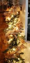 lighted burlap garland it gives such a simple natural homespun
