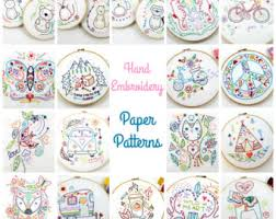 embroidery patterns felt ornaments small gifts by lovahandmade