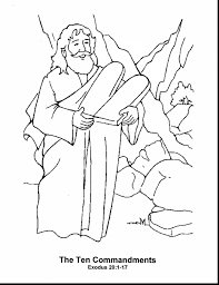 terrific moses and burning bush coloring page with moses coloring