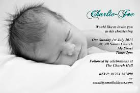Personalised Christening Invitation Cards Personalised Photo Christening Invitations Baptism Invites Or
