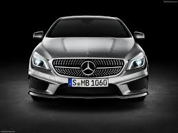 mercedes headlights at night mercedes benz cla class 2014 pictures information u0026 specs