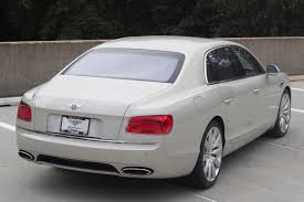 white bentley flying spur 2014 bentley flying spur stock 4n094033 for sale near vienna va