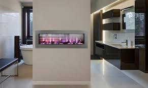 Napoleon Electric Fireplace Barbecue World Napoleon Clearion See Thru Electric Fireplace