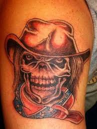 cowboy tattoo designs cowboy hat tattoos cowboy skull tattoos