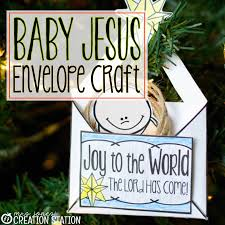 nativity craft baby jesus ornament mrs jones creation station