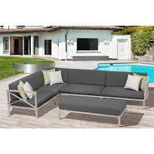 White Aluminum Patio Furniture Sets - ove decors patio furniture outdoors the home depot