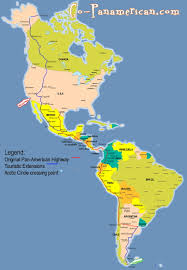 Us And Mexico Map Best 25 Pan American Highway Ideas On Pinterest American Road