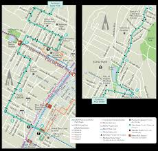 Metro Bus Routes Map by Dash Pico Union Echo Park Ladot Transit Services