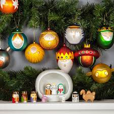 palle presepe tree ornaments set of 10 by alessi