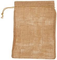 burlap drawstring bags pack of 6 un laminated jute burlap drawstring bag eco