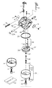 tecumseh tec 640129 parts diagram for carburetor