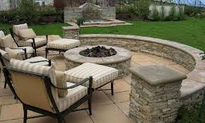 Patio Firepits Backyard Backyard Pits Amazing Backyard Patio Designs With