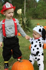 Baby Money Bag Halloween Costumes Fireman Dalmation Hayden U0026 Sister Ohhhh
