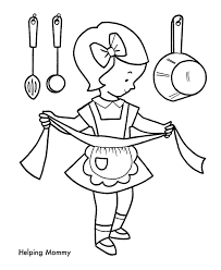 printable young christmas coloring pages id 18260 clip art