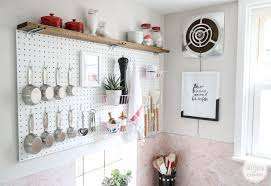 Pegboard Kitchen Ideas by 28 Pegboard Kitchen 20 Big Ideas For Small Kitchens Brit Co