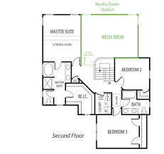 5th bedroom and rec room options added at the cove at bennett u0027s