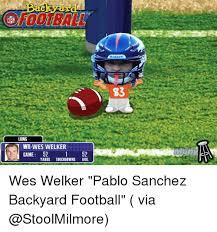 Backyard Sports Football When You U0027re Playing Backyard Football And You Get Pablo Sanchez