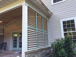 louvered outdoor bbq patio enclosure2 pool house ideas