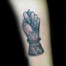 50 fingers crossed tattoo designs for men hand gesture ink ideas