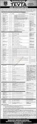Govt Jobs Resume Upload by Government Of The Punjab Tevta Jobs Jang Jobs Ads 19 September