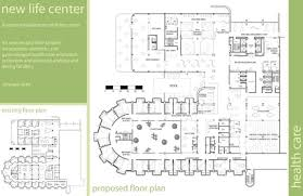 Health Center Floor Plan Health Care New Life Center By Caitlin Laskey At Coroflot Com