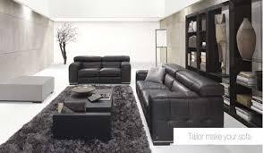Black Leather Sofa Set Living Room Design Black Leather Sofa Sets Living Room Sofas